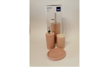 Kela WC-set compleet porselein roze